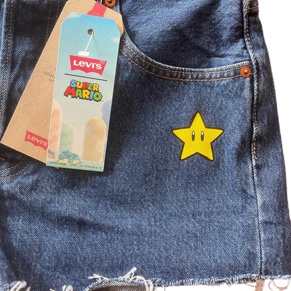 LEVIs Super Mario Bro Shorts NWT SOLD
